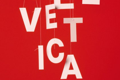 helvetica in mainz poster