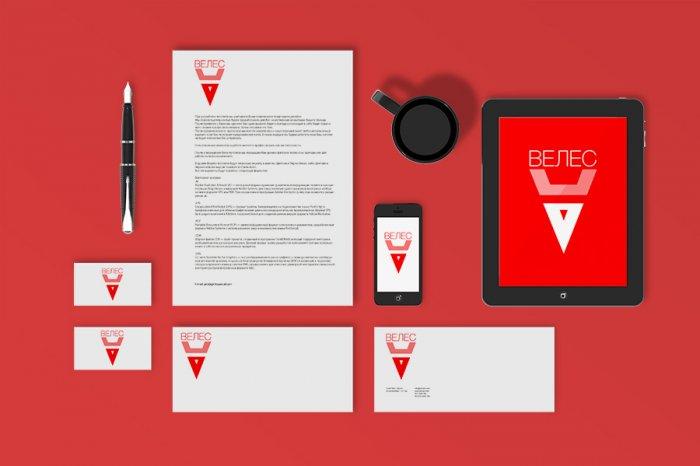 логотипа Велес