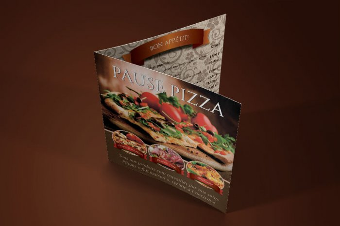 PAUSE PIZZA catalog